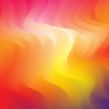Abstract colorful background. Abstract fiery background. Vector illustration for web design, desktop wallpaper or website Royalty Free Stock Images