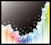 Abstract Colorful Background for Flyers Royalty Free Stock Images