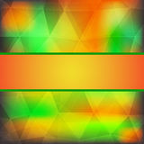 Abstract colorful background with frame Royalty Free Stock Image