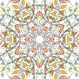 Abstract colorful background. Gorgeous seamless patchwork pattern. Colorful floral ornament tiles. For different design uses, as wallpaper, pattern fills, web Royalty Free Stock Photography