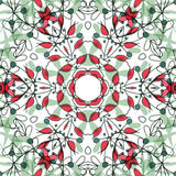 Abstract colorful background. Gorgeous seamless patchwork pattern. Colorful floral ornament tiles. For different design uses, as wallpaper, pattern fills, web Royalty Free Stock Image