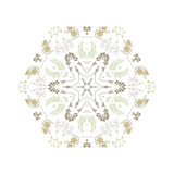 Abstract colorful background. Gorgeous symmetrical patchwork pattern. Colorful floral ornament tiles. For different design uses, as wallpaper, pattern fills, web Stock Photos