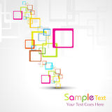 Abstract colorful background illustration Royalty Free Stock Image