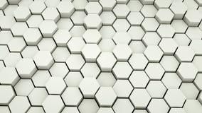 Abstract background illustration design. Abstract hexagon background illustration design royalty free illustration