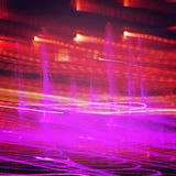 Abstract colorful background. Light Painting . Stock Photos