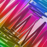 Abstract colorful background.Modern design pattern Stock Photography