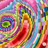 Abstract colorful background. Mosaic. Vector Stock Photography