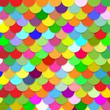 Abstract colorful background scales Royalty Free Stock Images