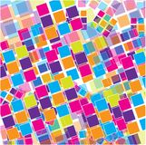 Abstract Colorful Background with Small Squares Stock Images