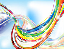 Abstract colorful background with sparkle Royalty Free Stock Photo