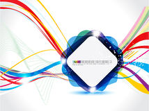 Abstract colorful background with sparkle Stock Photo