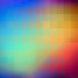 Abstract colorful background of squares. Stock Photos