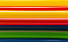 Abstract colorful background. From straws Stock Images