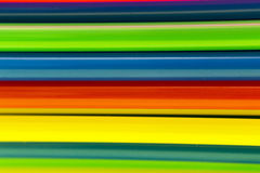 Abstract colorful background. From straws Royalty Free Stock Images