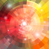 Abstract colorful background with sun Stock Photo