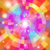 Abstract colorful background with sun Royalty Free Stock Photography