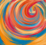 Abstract colorful background. Abstract colorful swirls  background Royalty Free Stock Image