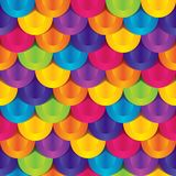 Abstract Colorful Background Template. Seamless Rainbow Pattern. Image for your design project Royalty Free Stock Images