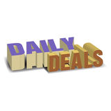 Daily deals Royalty Free Stock Images