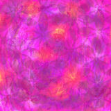 Abstract colorful background with transparency flowers Royalty Free Stock Photos