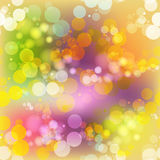 Abstract colorful background with transparent circles Stock Photos