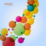Abstract colorful background vector Royalty Free Stock Photo