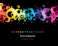 Abstract colorful background. Vector. Royalty Free Stock Image