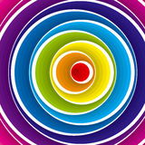 Abstract colorful background. Vector. Vector illustration background depicting a colorful circles composition Royalty Free Stock Images