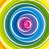Abstract colorful background. Vector. Vector illustration background depicting a colorful circles composition Stock Images