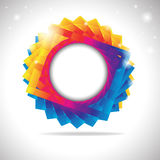 Abstract Colorful Background. Vector illustration Royalty Free Stock Photo