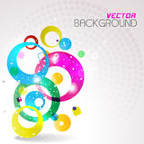 Abstract colorful background. Vector illustration. Royalty Free Stock Image