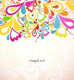 Abstract colorful background. Vector illustration Royalty Free Stock Image
