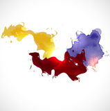 Abstract colorful background, Vector & illustration. Abstract colorful background, vector illustration stock illustration