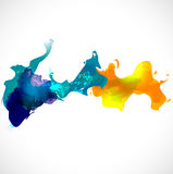 Abstract colorful background, Vector & illustration Royalty Free Stock Image