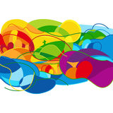 Abstract colorful background.. Vector Illustration Royalty Free Stock Image