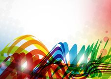 Abstract Colorful Background. Vector Illustration. Eps 10 Royalty Free Stock Photography