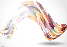 Abstract Colorful Background. Vector Illustration. Eps 10 Stock Photography