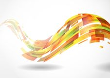 Abstract Colorful Background. Vector Illustration. Eps 10 Royalty Free Stock Images