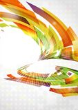Abstract Colorful Background. Vector Illustration. Eps 10 Stock Image