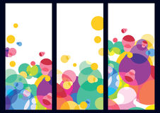 Abstract colorful background. Vector banners template. Abstract colorful background. Vector template Royalty Free Stock Photos