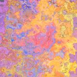 Abstract colorful background in violet, pink, blue and yellow Royalty Free Stock Images