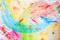 Abstract colorful background in vivid colors Stock Images
