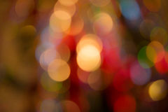 Abstract Colorful Background With Warm Colors. Bokeh Lights Out. Abstract Colorful Background With Warm Orange, Red, Yellow Colors. Bokeh Lights Out Of Focus Stock Photo