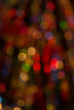 Abstract Colorful Background With Warm Colors. Bokeh Lights Out Stock Photography