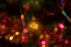 Abstract Colorful Background With Warm Colors. Bokeh Lights Out Royalty Free Stock Photo