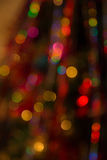 Abstract Colorful Background With Warm Colors. Bokeh Lights Out. Abstract Colorful Background With Warm Orange, Red, Yellow Colors. Bokeh Lights Out Of Focus Stock Photography