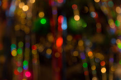 Abstract Colorful Background With Warm Colors. Bokeh Lights Out Royalty Free Stock Image