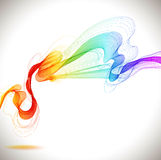 Abstract colorful background with wave Stock Photos