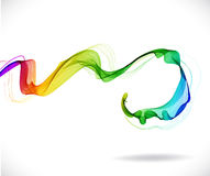 Abstract colorful background with wave Royalty Free Stock Photo