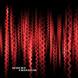 Abstract colorful background with zig zag lines Stock Photography